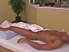 Hot Cougar Massage Cum Swallow