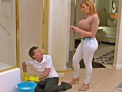 Big Tits Step Mom Sara Jay Riding Cock Well Touching Bud