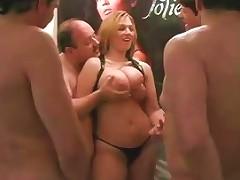 German Wife In A Swinger Club