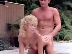 Filthy Blond Head Whore Got Powerfully Doggy Pose Drilled Outdoors