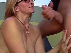 Glorious Sex With Horny Blonde Mature With Piercing