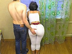 Stepmother Gave Her Son Her Big Ass Mom And Son Anal And Blowjob