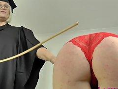 Les Mature Headmistress