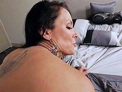 Super Hot Busty Milf Stepmom Smashed By A Horny Stepson