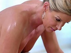 Gorgeous Milf Gives Stepson A Naughty Massage