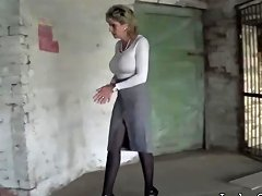 Stranger Takes Sonia And Gropes Her As She's Bound