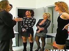 German 90s Office Sex