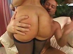 Classic Mature Stockings Big Ass And Anal