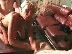 Gangbang Archive Blonde Milf Gangbanged In Ass And Pussy