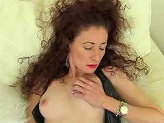 European Mature Gets Hairy Pussy Banged