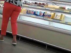 Mature Latina At Supermarket Free Puerto Rican Porn Video