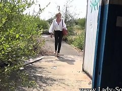 Lady Sonia Nude Striptease And Flashing In Public Drtuber