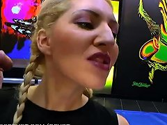 Huge Pissing Gangbang For Blondie Babe